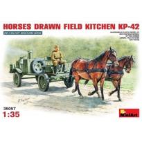 Horses Drawn KP-42 Field Kitchen (1:35)