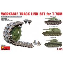 Workable Track Link Set for T-70M Light Tank (1:35)