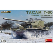 Tacam T-60 Romanian Tank Destroyer. Interior Kit (1:35)