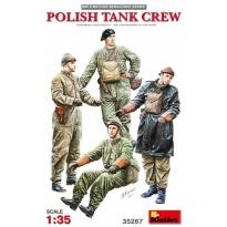 Polish tank crew x 4 (WWII) (1:35)