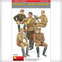 Soviet Jeep Crew. Special Edition (1:35)