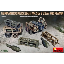 German Rockets 28cm WK Spr & 32cm WK Flamm (1:35)