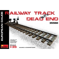 Railway Track & Dead End (European Size) (1:35)