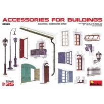 Accessories for buildings (1:35)