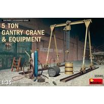 5 Ton Gantry Crane & Equipment (1:35)