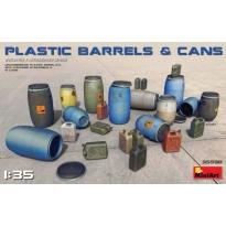 Plastic Barrels & Cans (1:35)