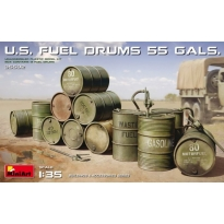 U.S. Fuel Drums (55 Gals.) (1:35)