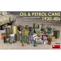 Oil & Petrol Cans 1930-40s (1:35)