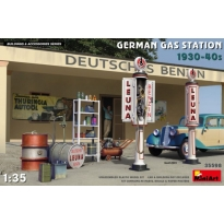German Gas Station 1930-40s (1:35)
