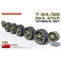 Soviet T-34/85 Sea Star Wheels Set (1:35)