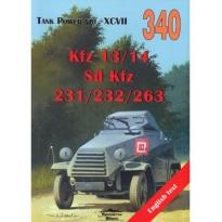 Kfz 13/14, Sd Kfz 231/232/263