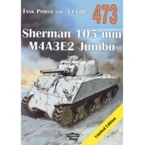 Sherman 105 mm M4A3E2 Jumbo