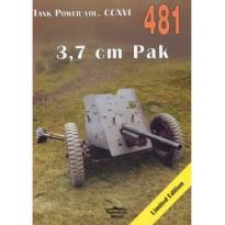 Militaria 481 3,7 cm Pak