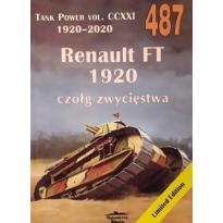 Militaria 487 Renault FT 1920 czołg zwycięstwa