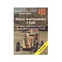 Militaria 490 Bitwa Warszawska 1920 - działania pancerne i lotnicze.Samochód pancerny Ford