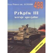 Militaria 498 Pzkpfw III wersje specjalne
