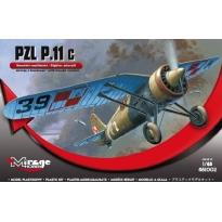 PZL P.11c Wersja z bombami (1:48)