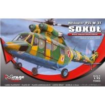 Helikopter PZL W-3T Sokół Wersja Transportowo-Ratownicza (1:72)