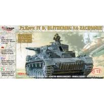 """Pz.Kpfw.IVD """"Blitzkrieg na zachodzie"""" (1:72)"""