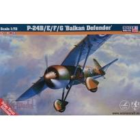 "PZL P-24B/E/F/G ""Balkań Defender"" (1:72)"