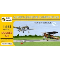 Gladiator Mk.II & Brewster B-239 'In Finnish Air Force' (double kit) (1:144)