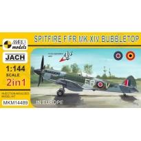 """Spitfire F/FR Mk.XIV Bubbletop """"In Europe"""" (2 in 1) (1:144)"""