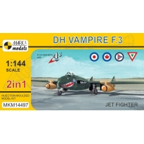 "DH Vampire F.3 ""Jet Fighter"" (2 in 1)(1:144)"