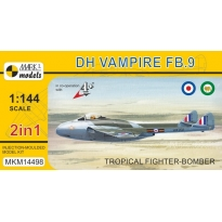 "DH Vampire FB.9 ""Tropical Fighter-Bomber"" (2 in 1)(1:144)"