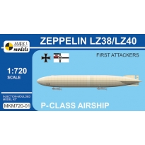 Zeppelin P-class LZ38/LZ40 'First Attackers' (1:720)
