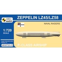 Zeppelin P-class LZ45/LZ58 'Naval Raiders' (1:720)