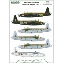 Vickers Wellington in Polish service part I (1:48)