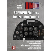 RAF WW2  Fighters Instrument Panels INSIDE No.4
