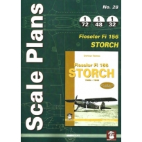 Scale Plans No.28 Fieseler Fi 156 Storch (1:72,1:48,1:32)