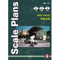 Scale Plans No.31 FIAT CR.42 Falco (1:72,1:48,1:32)
