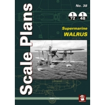 Scale Plans No.38 Supermarine Walrus (1:72,1:48)