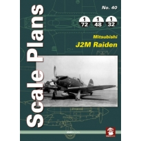 Scale Plans No.40 Mitsubishi J2M Raiden (1:72,1:48,1:32)