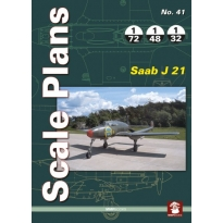 Scale Plans No.41 Saab J 21 (1:72,1:48,1:32)