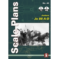Scale Plans No.46 Junkers Ju 88 A-D (1:72,1:48)