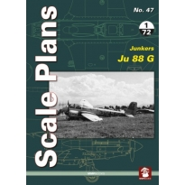 Scale Plans No.47 Junkers Ju 88G (1:72,1:48)