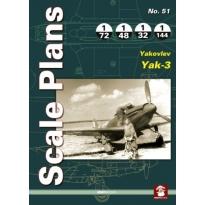 Scale Plans No.51 Yakovlev Yak-3 (1:144,1:72,1:48,1:32)