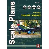 Scale Plans No.52 Yakovlev Yak-9U, Yak-9P (1:144,1:72,1:48,1:32)
