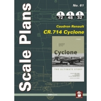 Scale Plans No.61 Caudron Renault CR.714 Cyclone (1:72,1:48,1:32)