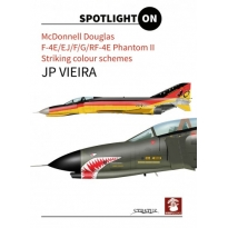 Mc Donell Douglas  F-4E/Ej/F/G/RF-4E Phantom II striking colour schemes