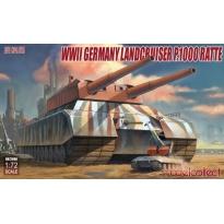 WWII German Landcruiser P.1000 ratte (1:72)