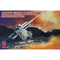 German 128mm Flak40 heavy Anti-Aircraft Gun Type 2 (1:72)