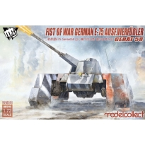 Fist of War German WWII E75 Ausf.vierfubler Gerat 58 (1:72)