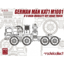 German MAN KAT1M1001 8*8 HIGH-Mobility off-road truck (1:72)