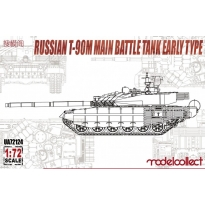 Russian T-90M Main battle tank early type (1:72)