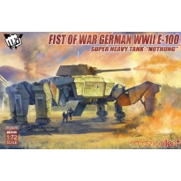 "Fist of War German WWII E-100 Supper Heavy Tank ""Nothung"" (1:72)"