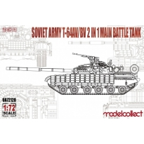 Soviet Army T-64AV/BV 2 IN 1 Main Battle Tank (1:72)